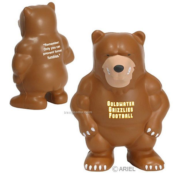 Bear Mascot Squeeze Toy
