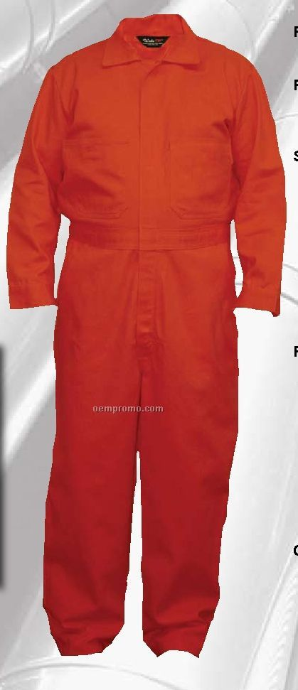 Walls Flame Resistant Deluxe Contractor Coverall