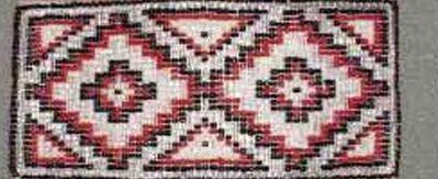 "5""X31 Aztec Barrette"