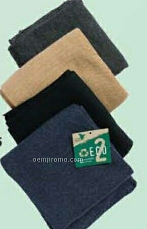 Eco-cotton Polyester Knit Scarf