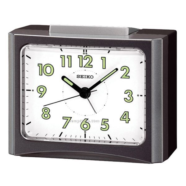 Seiko Table Alarm Clock W/ Back Light