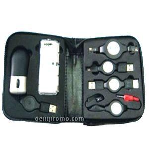 Computer Kit With Mini 4-port Hub & Earphones