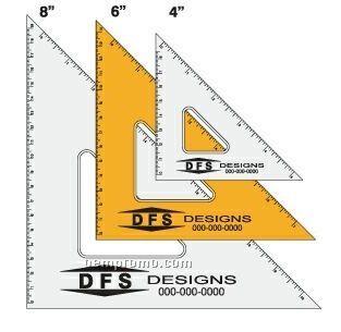 "Fluorescent Triangle Measuring Device (4"")"