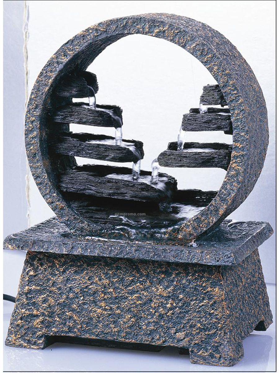 Homedics Envirascape Zen Springs Illuminated Relaxation Fountain