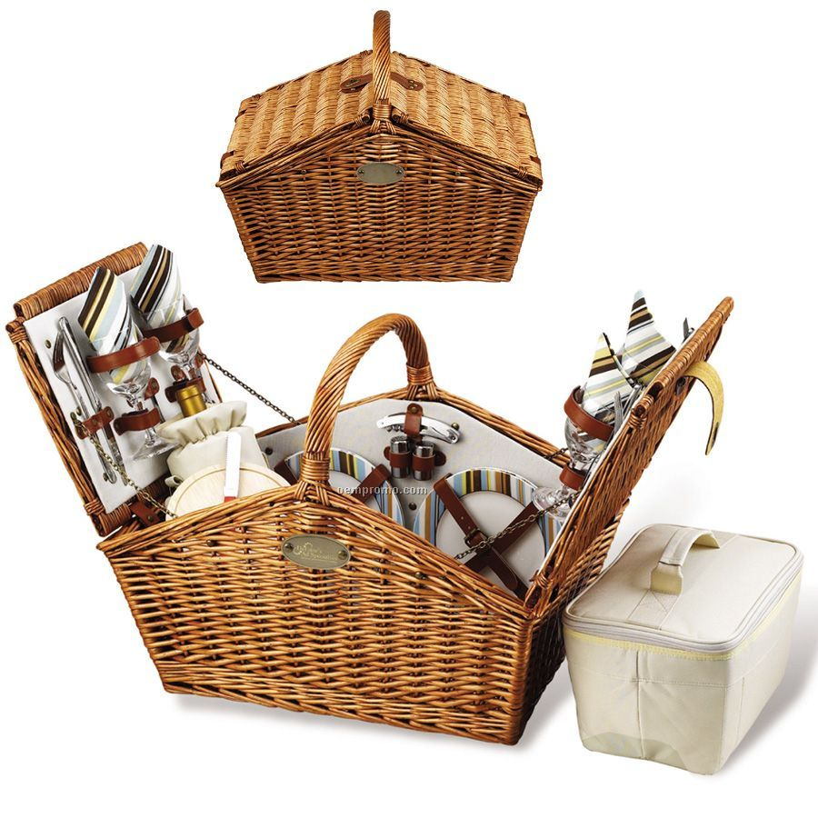 Cheap Picnic Basket For 4 : Huntsman picnic basket for four china wholesale