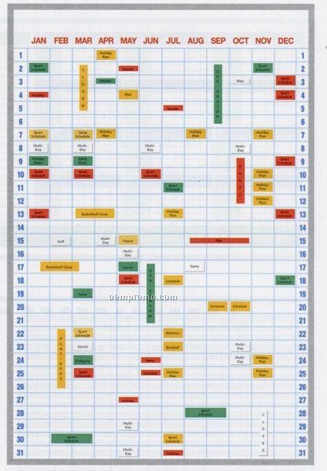 Year Calendar Magnetic : Calendar magnetic strip board kit quot x china