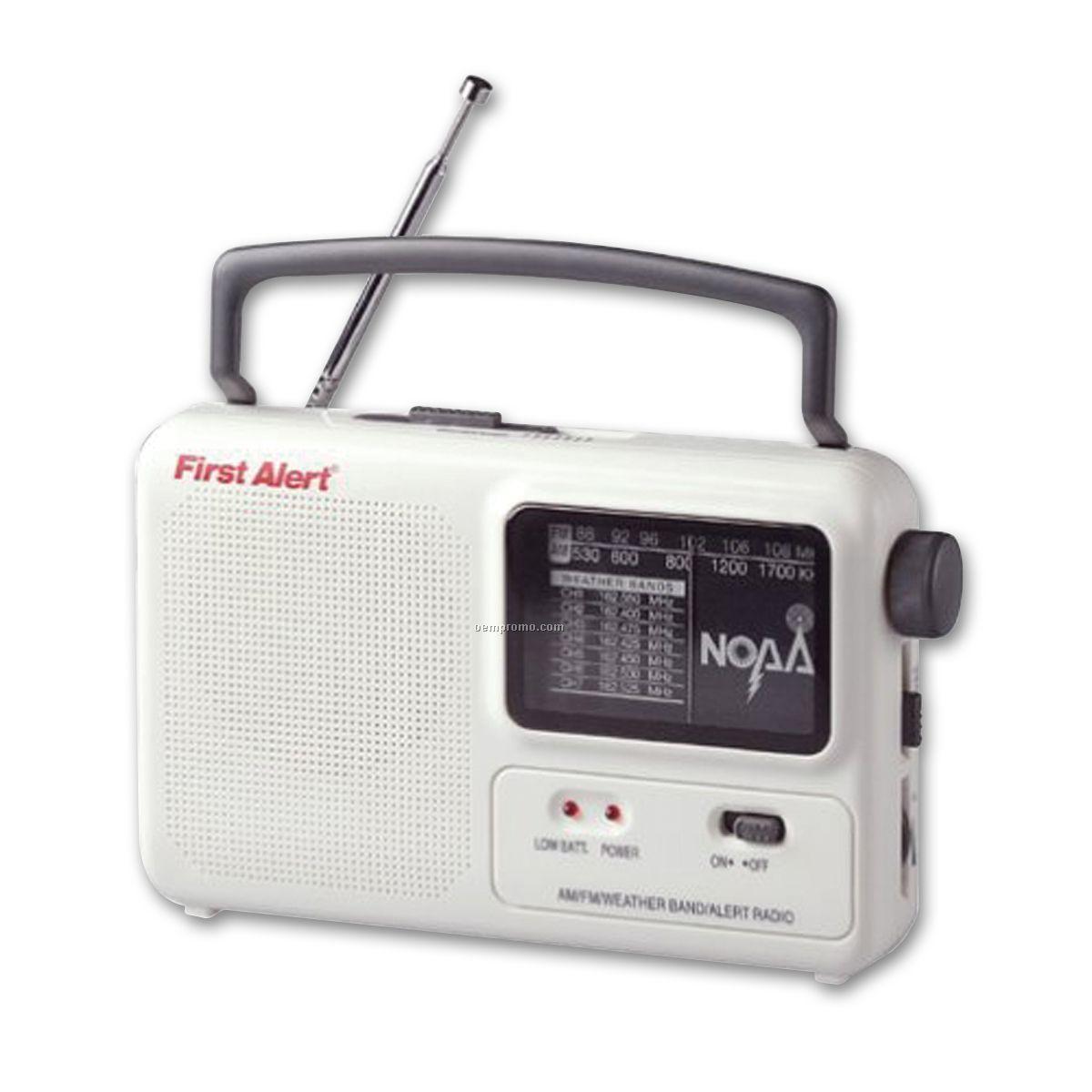 First Alert Noaa Emergency Alert Radio