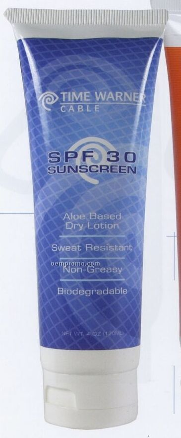 4 Oz. Custom Sunscreen In Tube