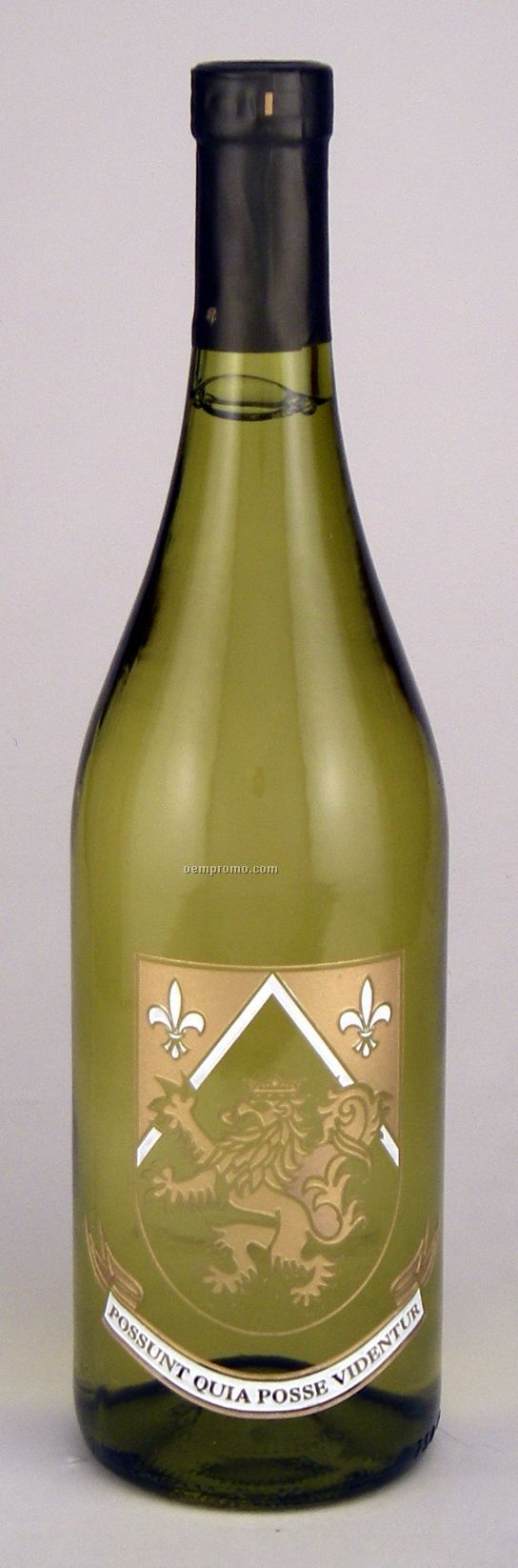 750ml Standard Chardonnay Wine Etched With 2 Color Fills