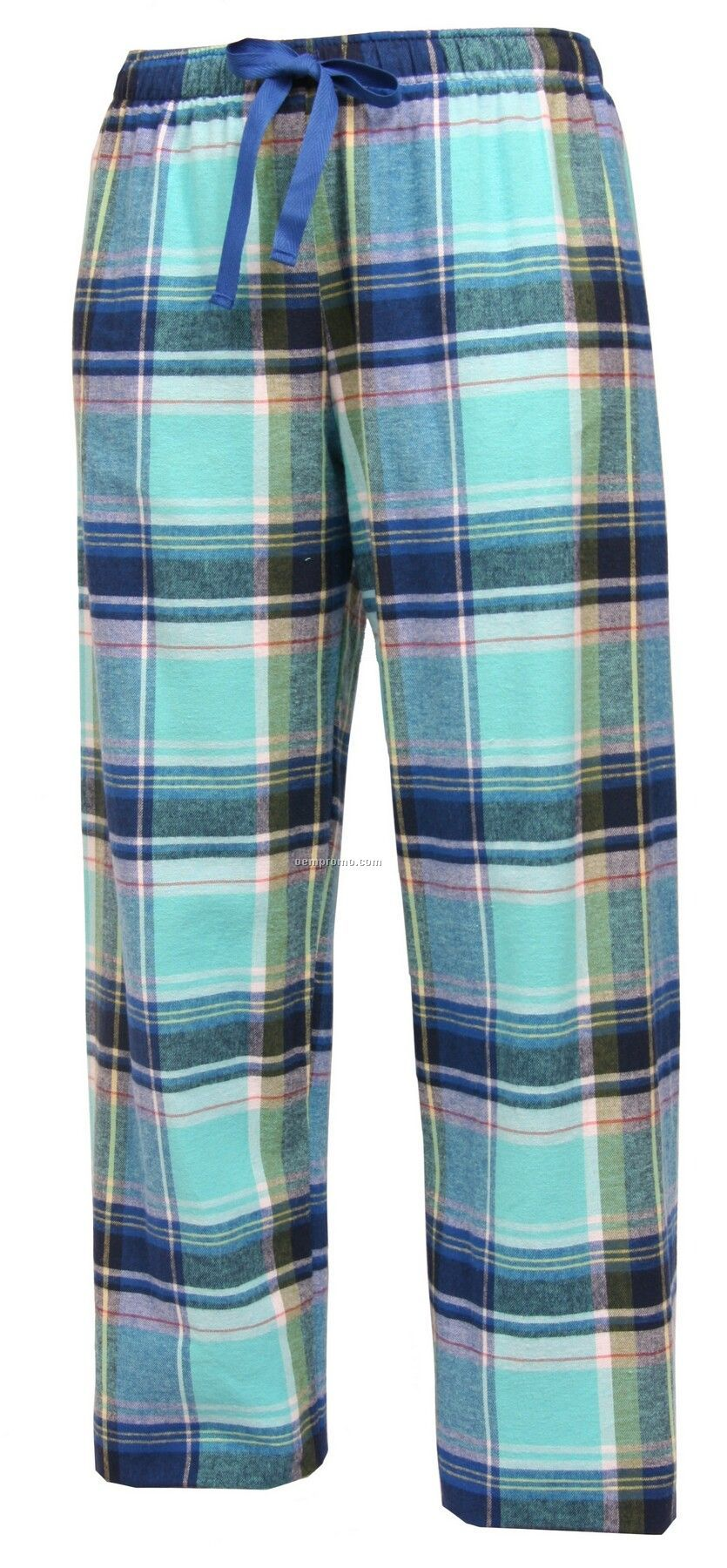 Adult Marina Plaid Fashion Flannel Pant With Tie Cord