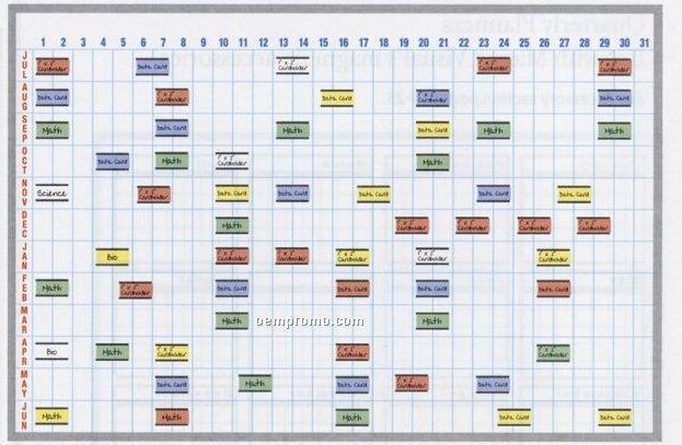 "Calendar Cardholder Board Kit (48""X72"")"
