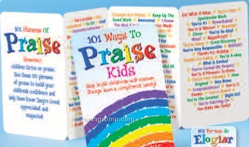 101 Ways To Praise Kids: Help Build Children's Self Esteem Pocket Pal (Eng)