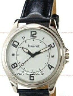 Women`s Contemporary Wristwatch W/ Silver Case