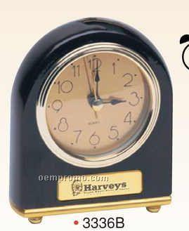 Rosewood Gold Alarm Clock (Screened)