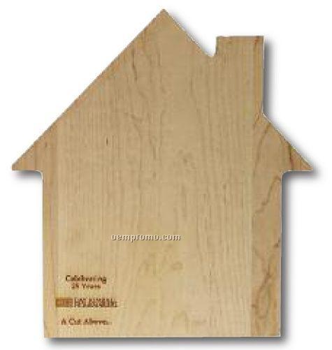 Custom Shaped House Cutting Board