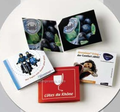 Dropstop Disc In Customized 3 Panel Folding Card