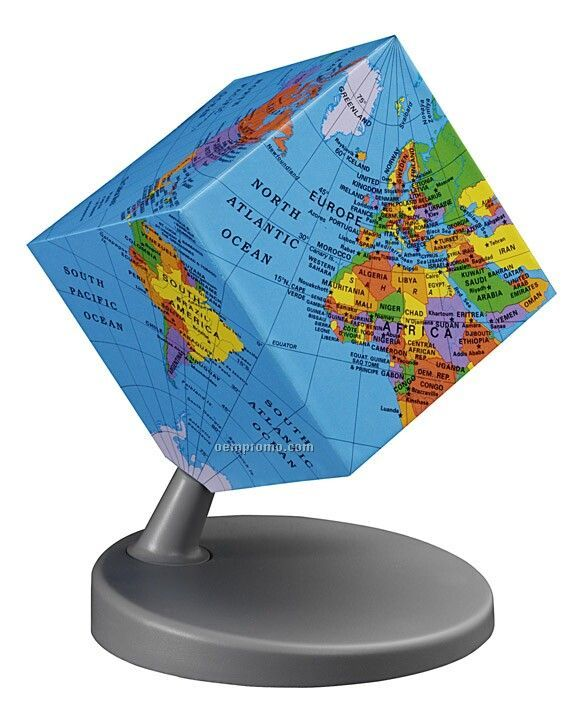 Earth2 Cube Desk Globe