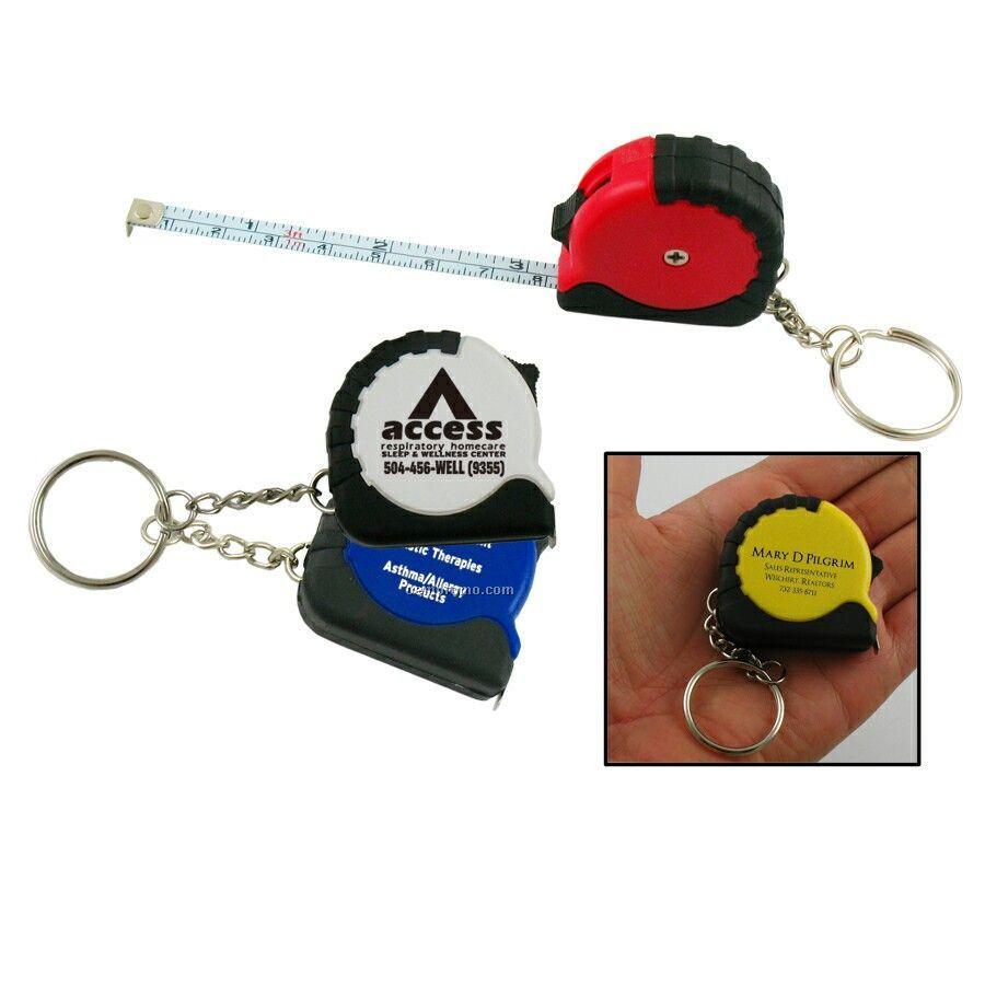 Mini Tape Measure W/ Key Chain