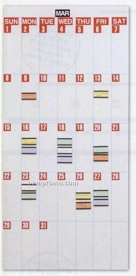 "Modular Calendar Board Kit (1 Panel - 36""X18"")"