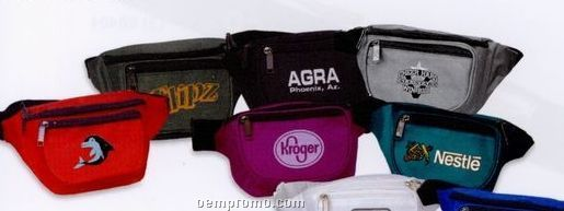 Classic 3 Pocket Fanny Pack