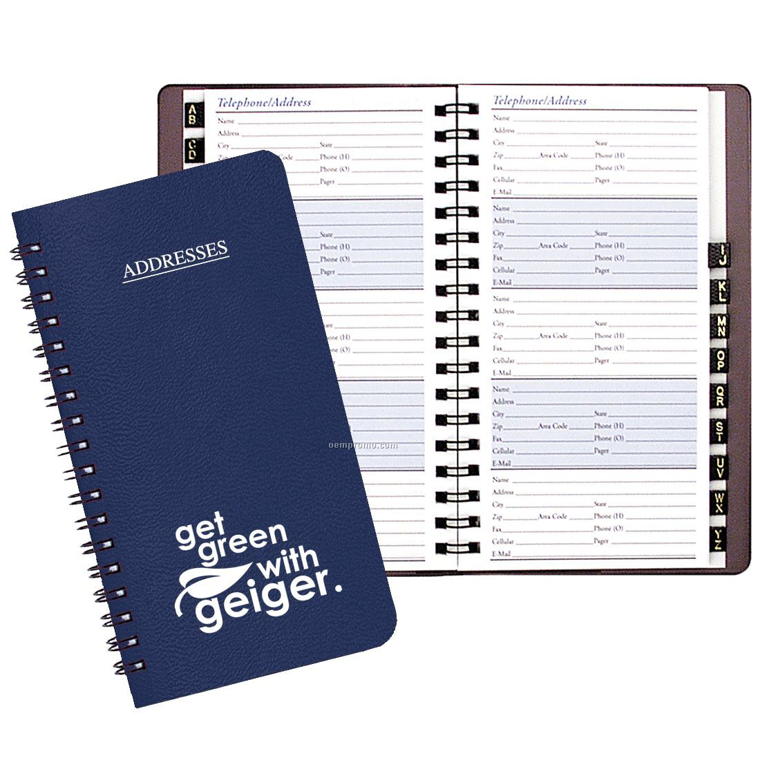 phone and address book