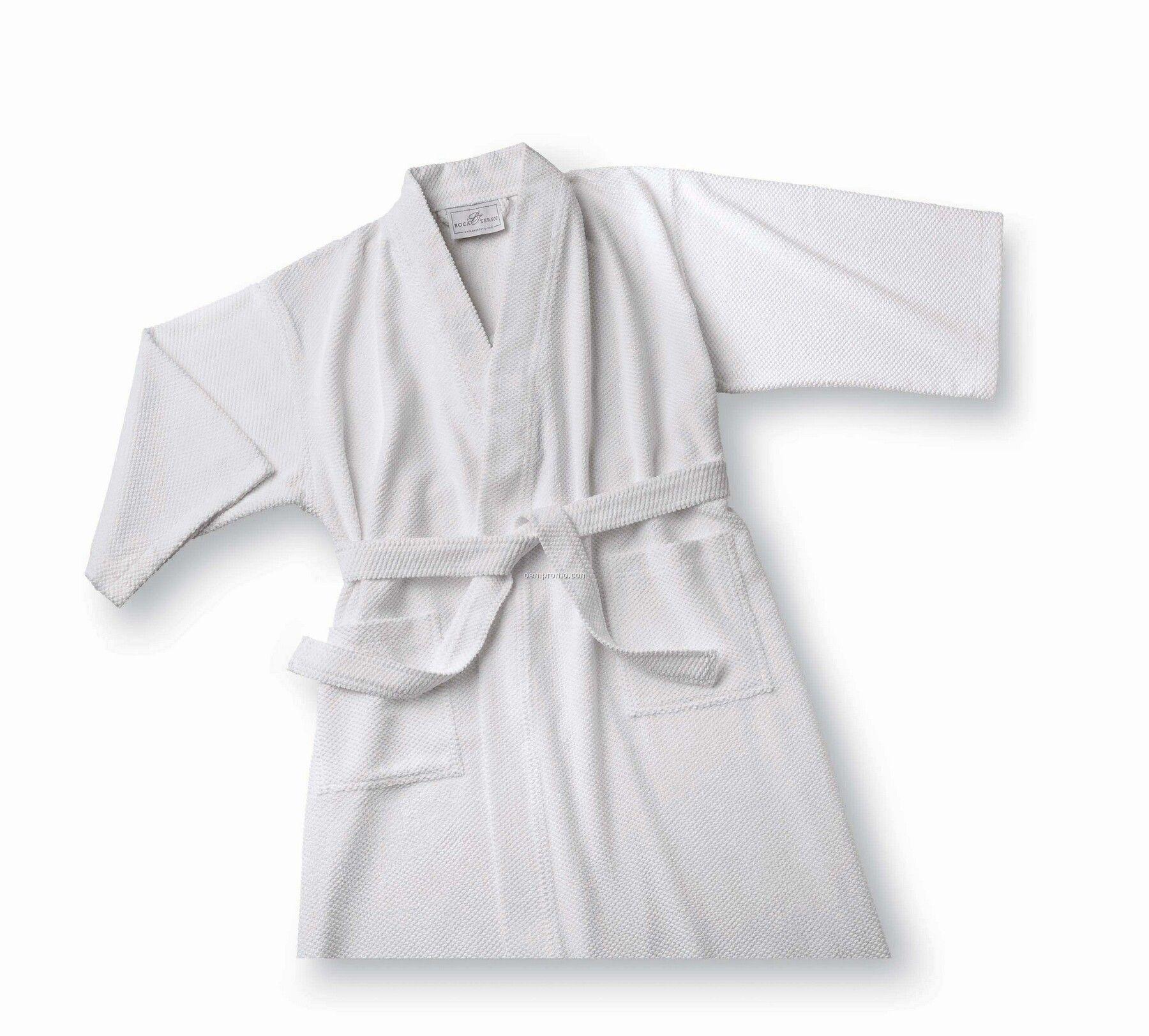 Microtec Kimono Pineapple Check Robe