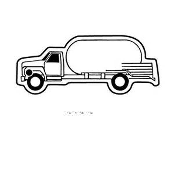 Stock Shape Collection Propane Truck 1 Key Tag