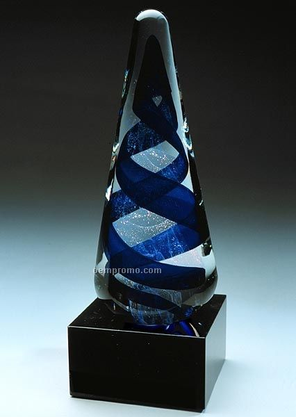 "Aladdin Sculpture W/ Marble Base (4.25""X11"")"