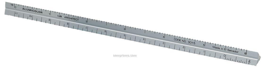 aluminum three edged rule Triangular Scale Ruler or architech multi function set