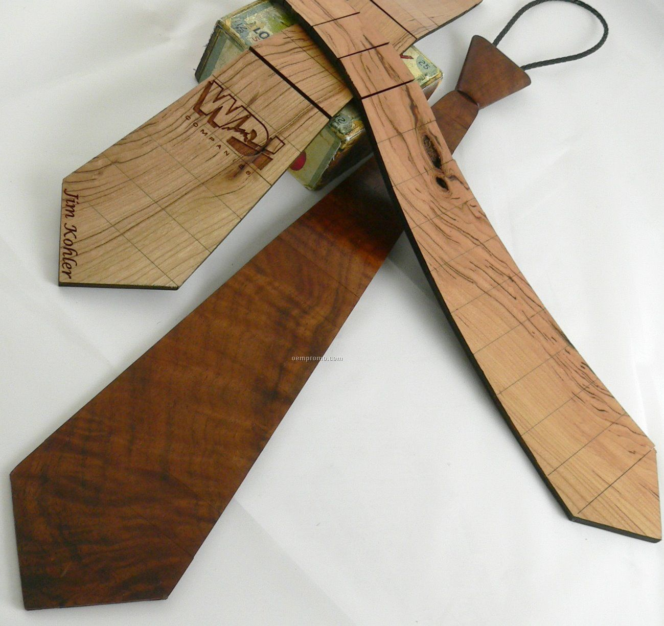 Wood Necktie