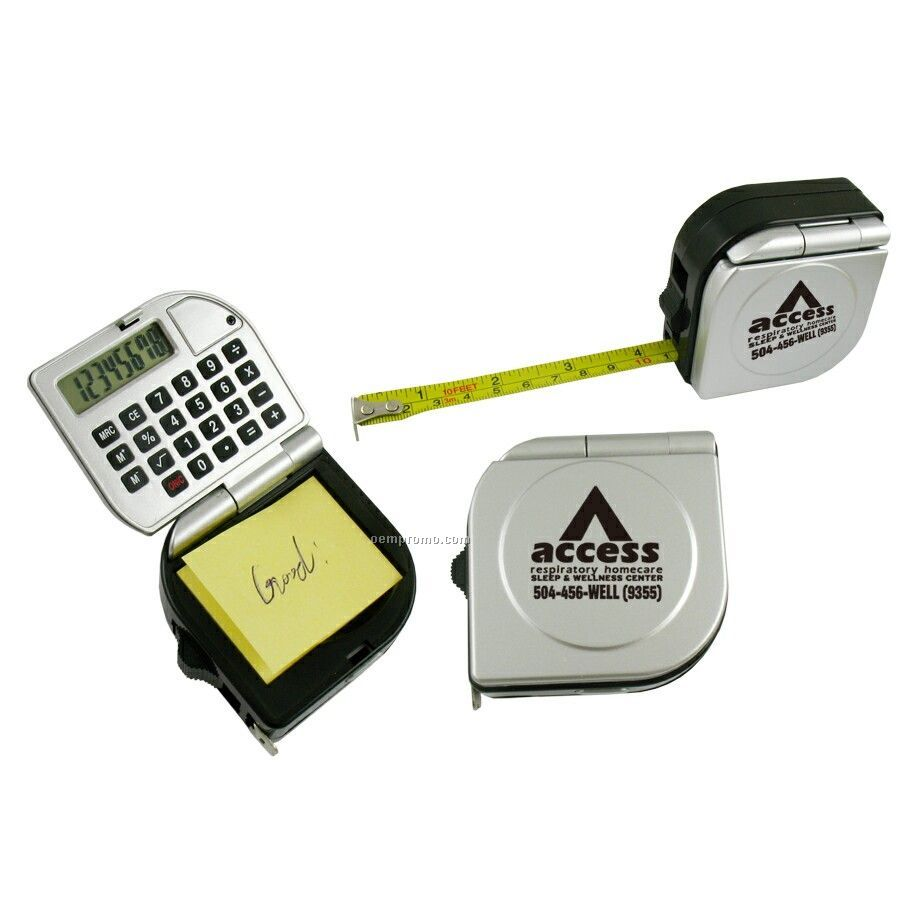 3-in-1 Tape Measure In Durable Case