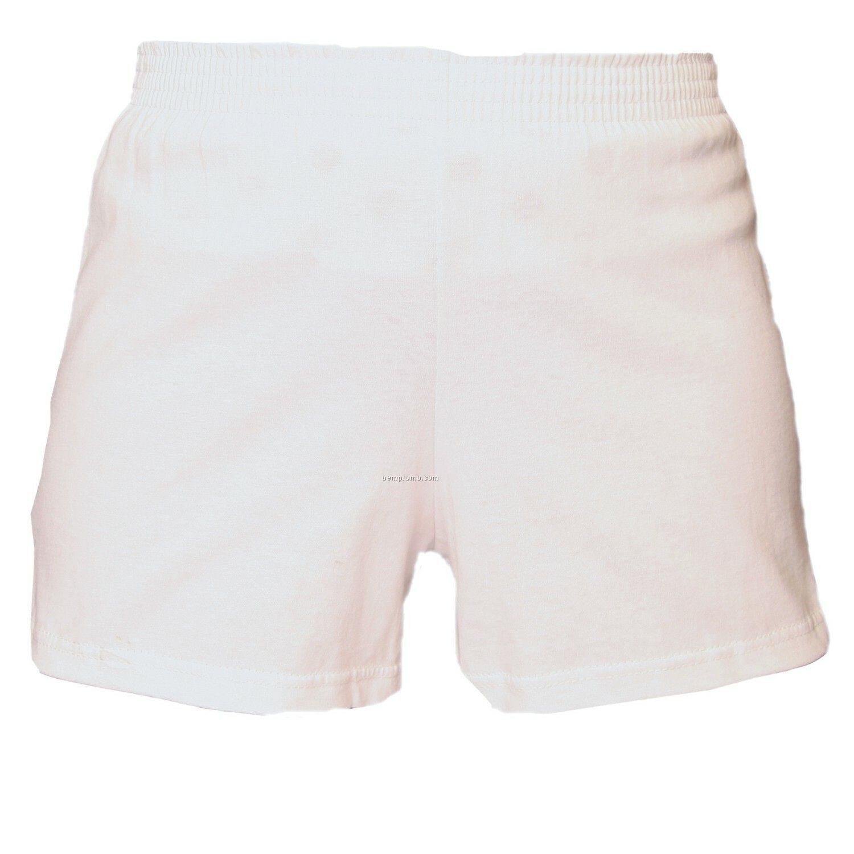 Adult White Spirit Shorts