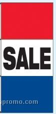 Double Face Stock Message Free Flying Drape Flags - Sale