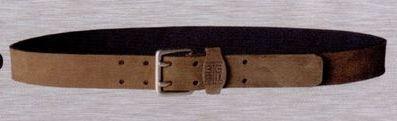 Koala Leather Belt W/ 2 Tongue Buckle