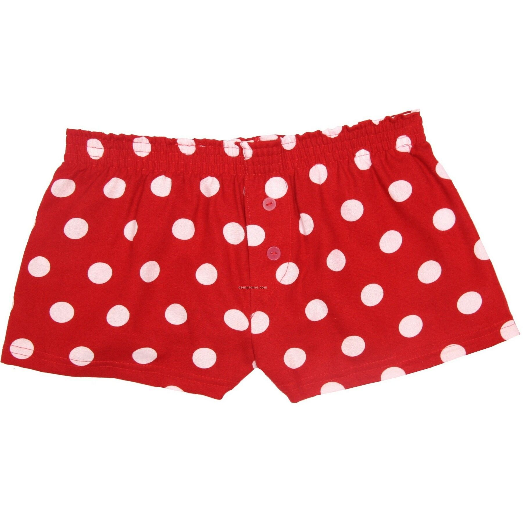 Ladies' Red Hot Spot Flannel Bitty Boxer Short