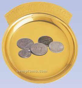 Solid Brass Pocket Change Holder (Screened)