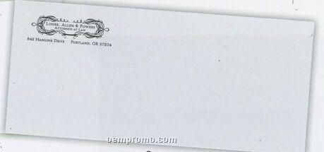 #10 Strathmore Writing Bright White Wove 24 Lb Stationery Envelopes