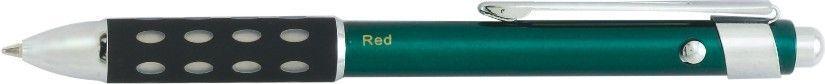 D-series Green 3-in-1 Multi Functional Pen (1 Color Imprint)