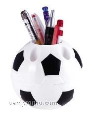 Football Shape Pen Container