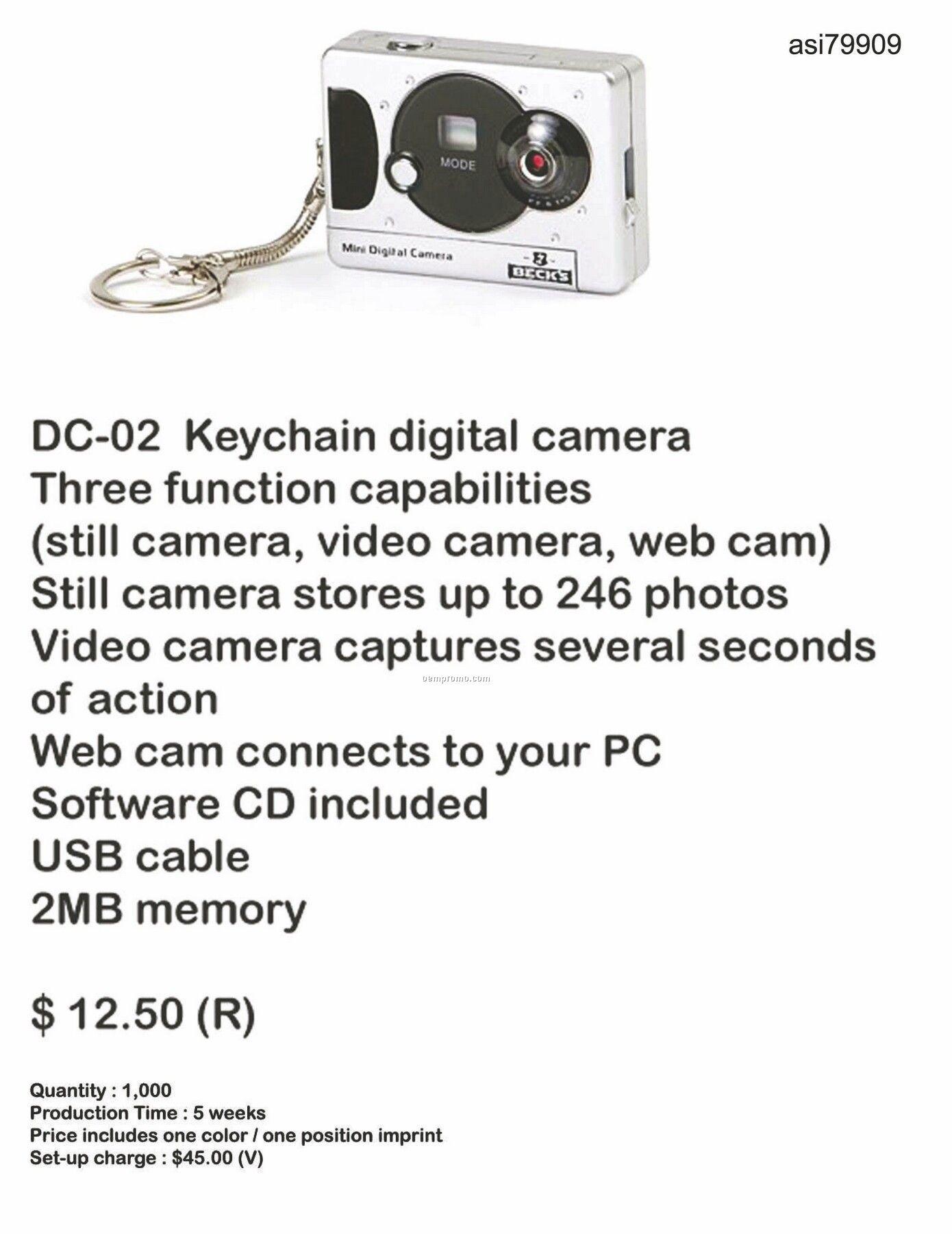Keychain Digital Camera