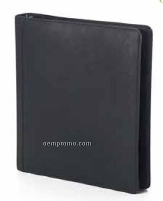 Open 3-ring Binder - Bridle Leather