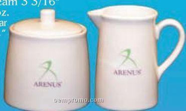 Demitasse Mini Cream And Sugar Set