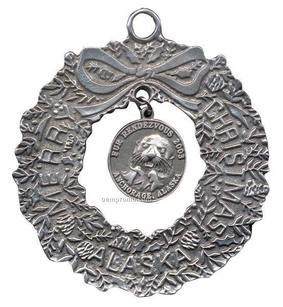 """Pewter Ornaments - 3"""""""