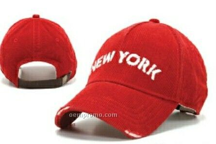 Stock New York Cap With Buckle Closure