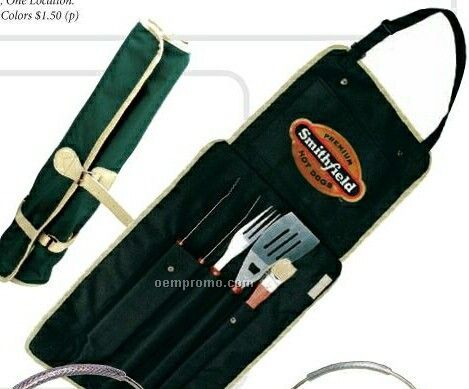 Bbq Apron With Utensils