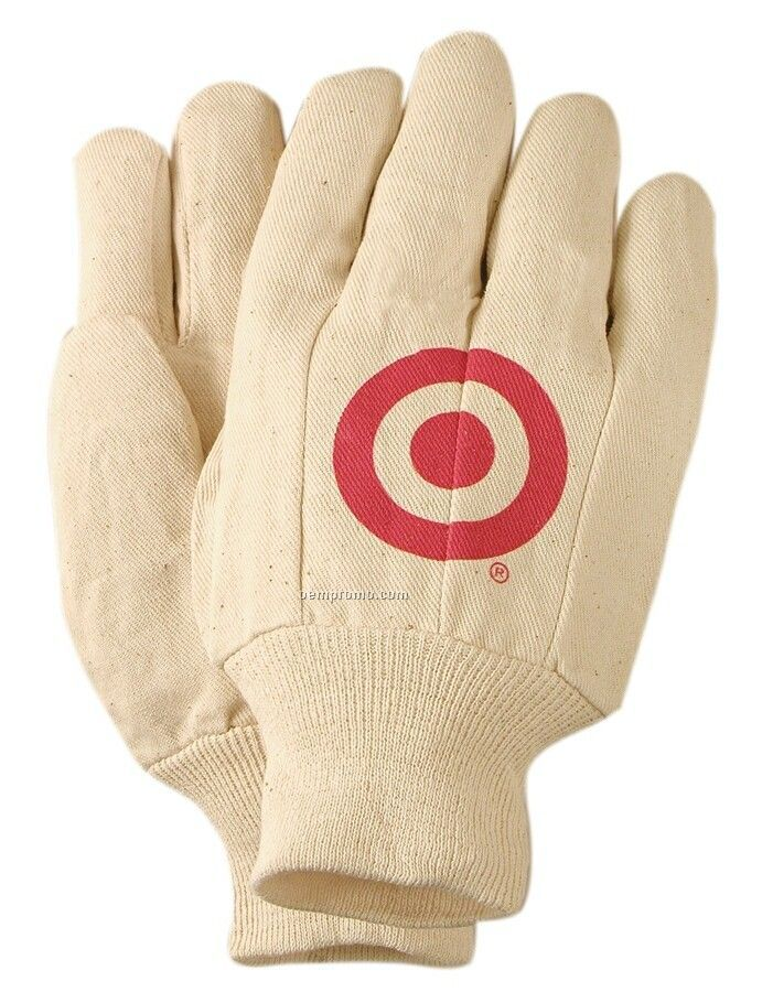 Men's 8 Oz. Canvas Garden & Painting Glove (Small/ Large)