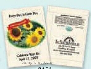 Organic Sunflower - Autumn Beauty Seed Packets (1 Color)