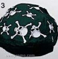 Skull & Cross Bones Cotton Do Rag