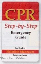 step by step guide to cpr Step one (circulation) is the only one you should perform if you have no training in cpr -- it's called the hands-only method and we discuss it in detail next don't check for a pulse current cpr guidelines don't require a layperson to check a victim's pulse before starting cpr.