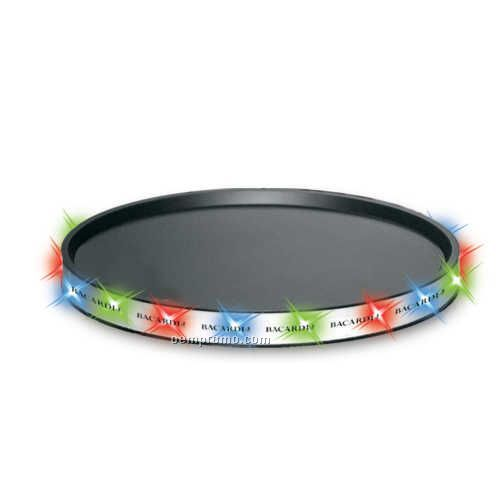 LED Serving Tray With Red/Blue/Green Leds